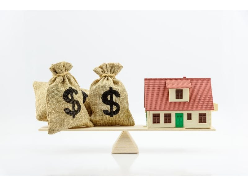 Balance between investing and mortgage
