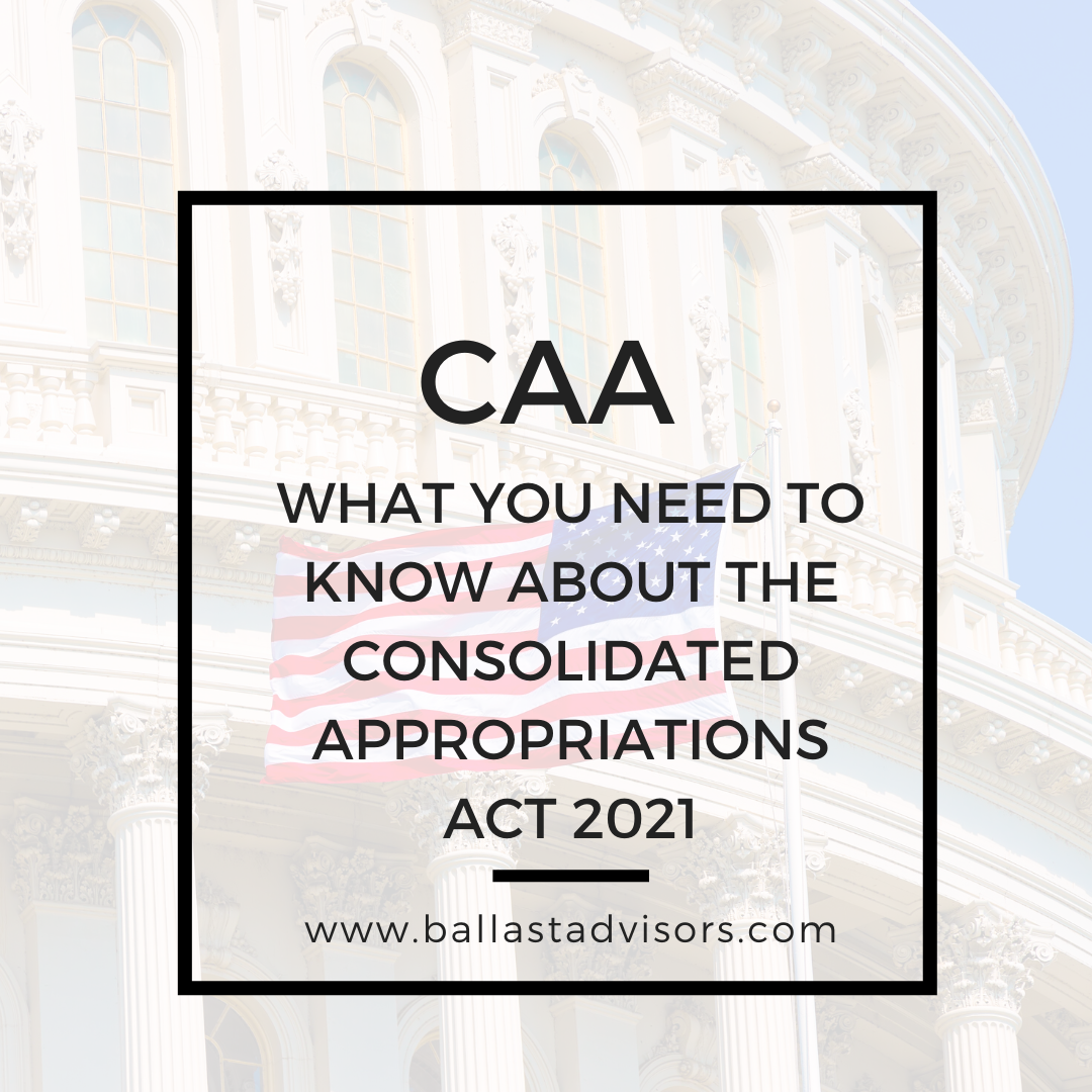 What you need to know about the Consolidated Appropriations Act 2021