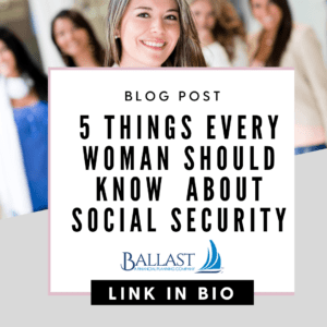 5 things every woman needs to know about social security